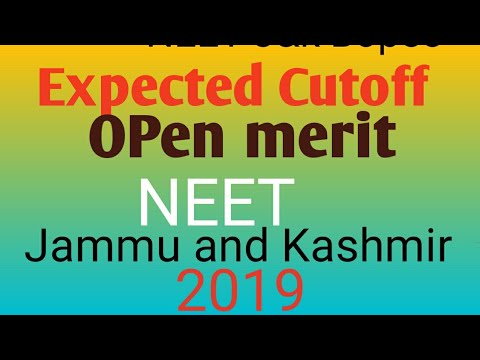Cutoff J K Bopee Neet 2019 Jammu And Kashmir Forums