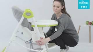 Baby Design Pepe- обзор стульчика для кормления