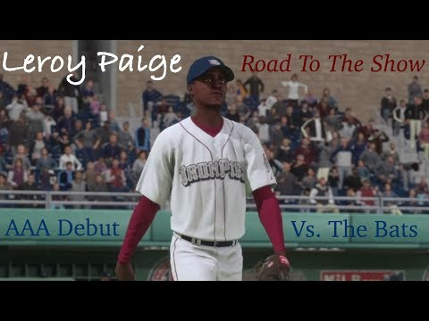 MLB The Show 16 - Leroy Paige - Road To The Show - AAA Debut!