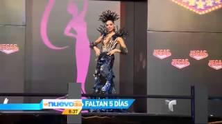 Trajes típicos latinas miss universo 2013
