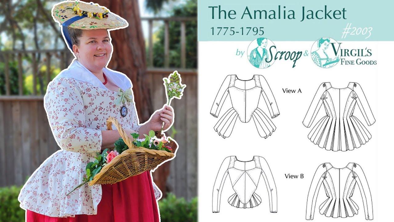 Finishing My 18th Century Jacket || Scroop Amalia Jacket, Part 3