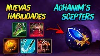 NUEVO Aghanim's Scepters ► Nuevas Habilidades (Explicación Completa) !!! 😎   Dota 2