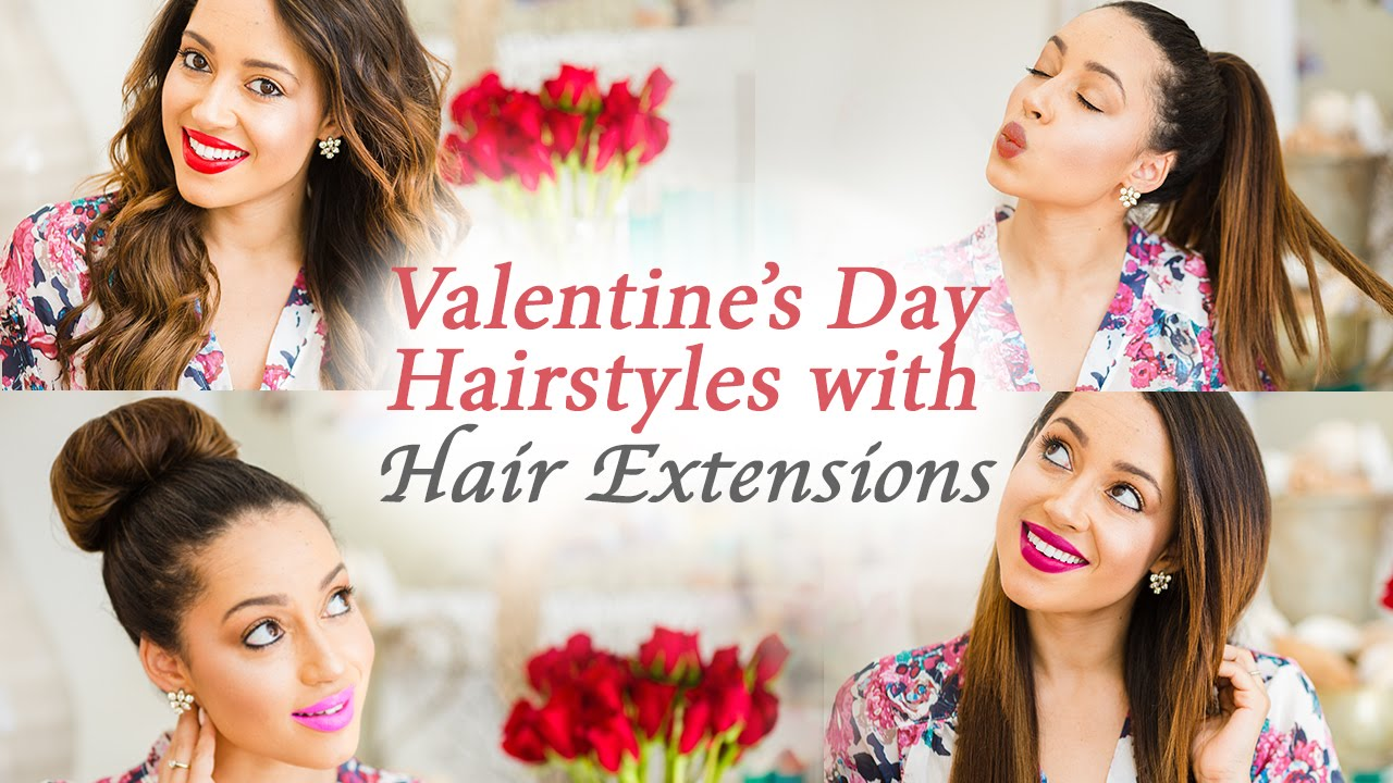 Valentines Day Hairstyles Hair Extensions Giveaway Elizabeth