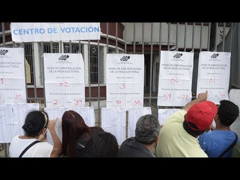 Venezuela elections for National Constituent Assembly begin