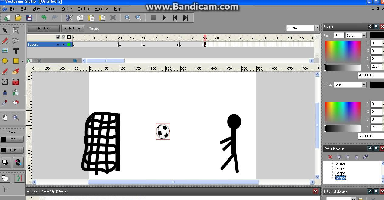 Vectorian giotto 1. Part tutorial youtube.