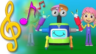TuTiTu Songs | Robot Dance Song | Songs for Children with Lyrics