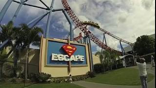 Superman Escape in SUPER SLOW MOTION!
