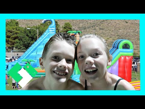 CRAZY GIANT WATER SLIDE (Day 1638)