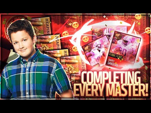 BIGGEST HEAPING PLATE OPENING (feat. GIBBY) + COMPLETING 3 MADDEN FEAST MASTERS!