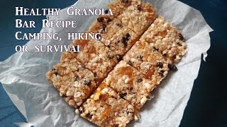 All Natural Granola Bars By Survivaltech Nord