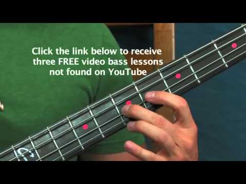 easy bass guitar song lesson scooby doo theme youtube. Black Bedroom Furniture Sets. Home Design Ideas