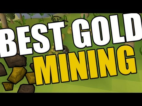 Runescape 2007 - Brimhaven Gold Mining - BEST GP PER HOUR IN 2007!