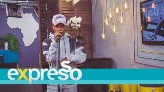 """Nasty c breaks it down on expresso with """"hell naw"""""""