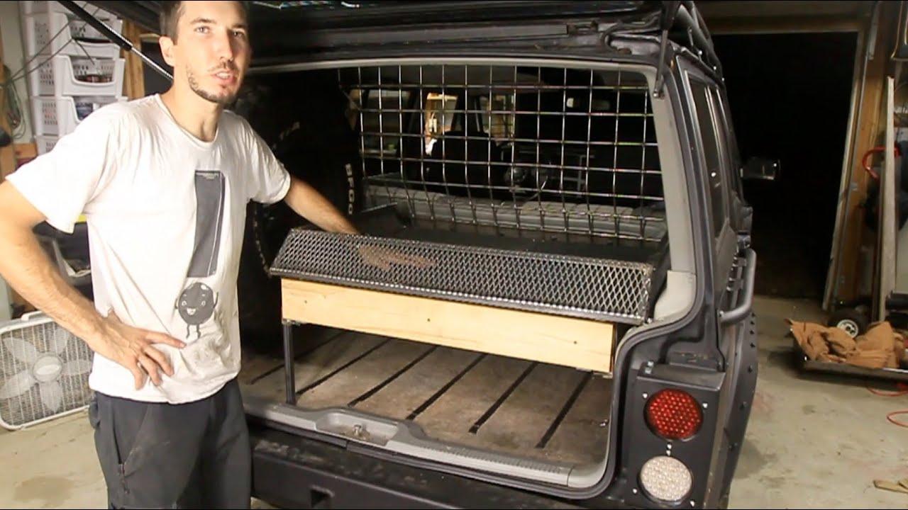 Zombie Jeep Rear Storage Shelf Part 1 Of 2 Youtube