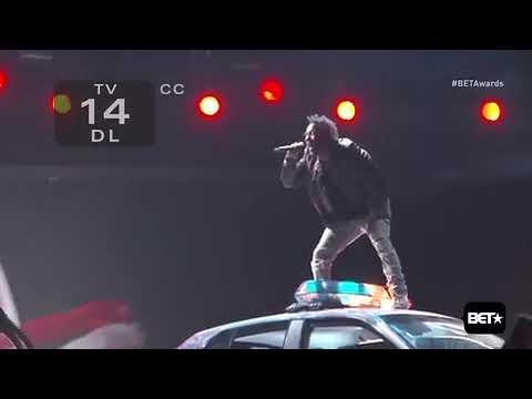 Kendrick lamar alright performance 2016