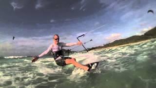 Caribbean kitesurf trips by catamaran