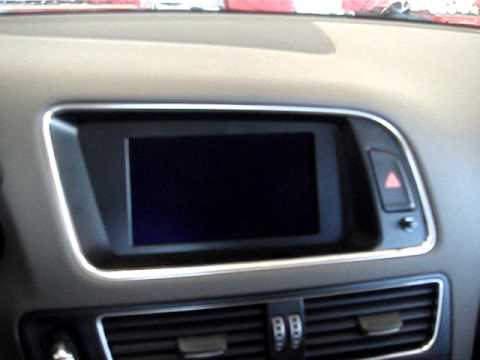 Audi Q5 -Audi Concert -Multimedia Interface (DVD/NAVI/REAR CAMERA)