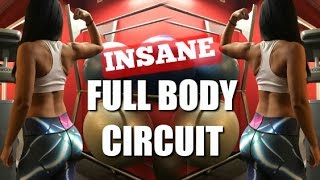 INSANE Full Body Circuit | Full Workout! (HARD!)