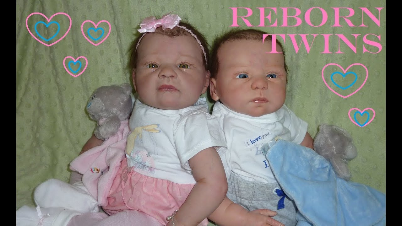 Fake Baby Twins Olivia and Troy - Welcome Reborn Boy and ...