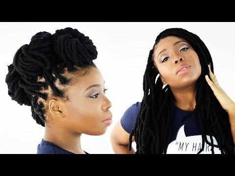 Faux Locs / Yarn Wraps (Full DVD Tutorial)