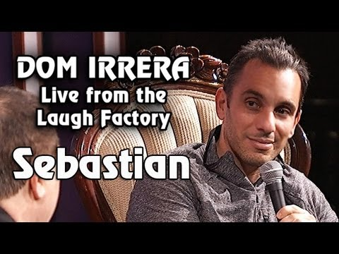 Dom Irrera Live from The Laugh Factory with Sebastian (Comedy Podcast)