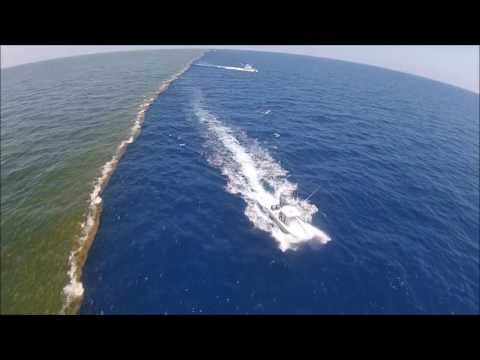 Río missisipi vs golfo de México