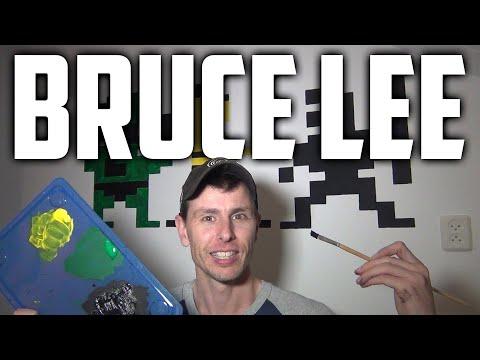 Decorating My Game Room (C64 BRUCE LEE!)