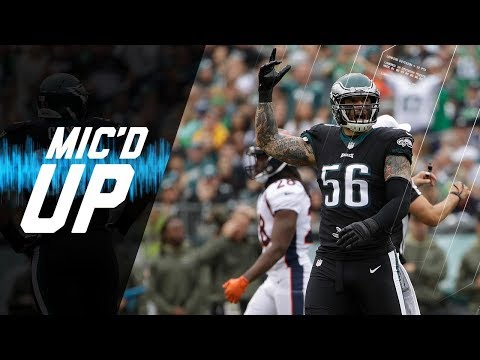 """Chris Long Mic'd Up vs. Broncos """"If It Gets to a 40-Point Game I'll Dance"""" 
