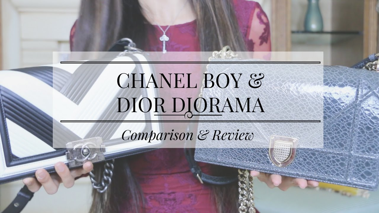 402c0df41791 CHANEL BOY BAG   DIOR DIORAMA