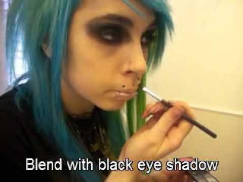 """""""mouth sew'n"""" look tutorial"""