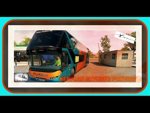 [FR] Neoplan Skyliner Preview / Fernbus Autocars Longue Distance