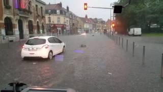 Inondations Saint André lez Lille 07/06/2016