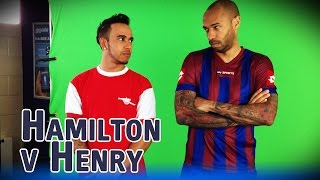 Lewis Hamilton v Thierry Henry - The Big Match