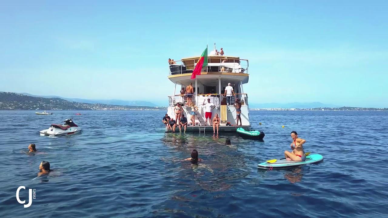 Vivez un évènement prestigieux à bord du yacht Clara One - Groupe Côté Jardin