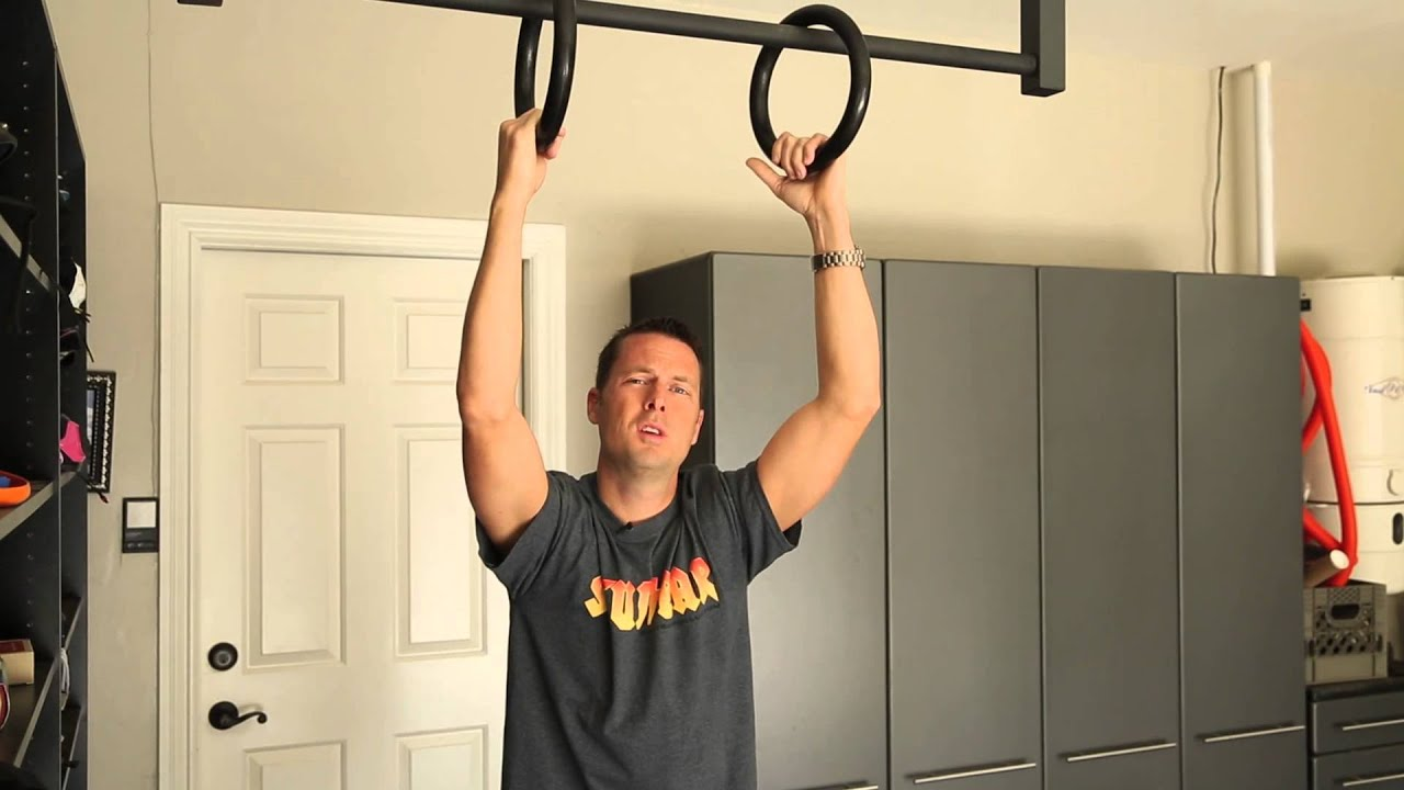 Garage gym pull up bar youtube