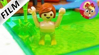 摩比游戏 Playmobil 玩偶影片 小尤在浴缸里干的蠢事!妈妈生气了