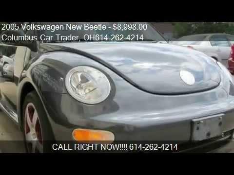 2005 Volkswagen Beetle GLS 2.0L Convertible (Video)- for sale Columbus 43214