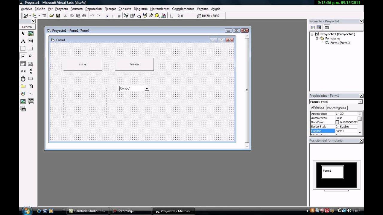 Como Crear Un Formulario En Visual Basic