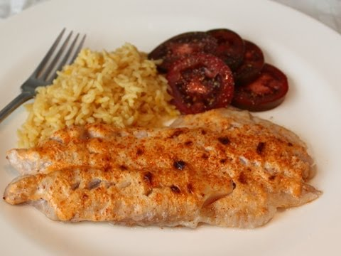 BBQ Broiled Red Snapper -- Fish Recipe For People Who Don't Like Fish