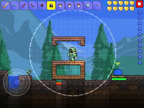 Terraria IOS- How to make AFK Gel farm