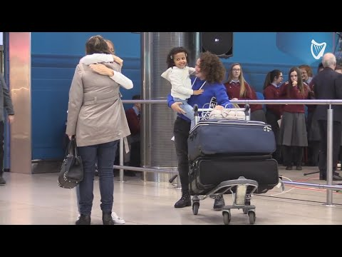 VIDEO: 'Family Is Everything' - Tears Of Joy As People Arrive At Dublin Airport To Spend Christma...