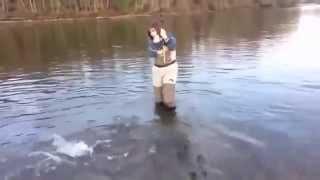 Взяв дружину на риболовлю оборжался!