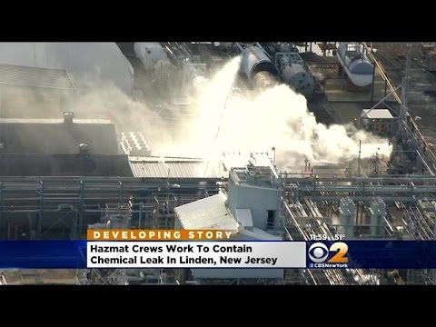 Chemical Leak Contained At Refinery In Linden, NJ