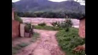 enchente em Almenara, rio Jequitinhonha dez 2013