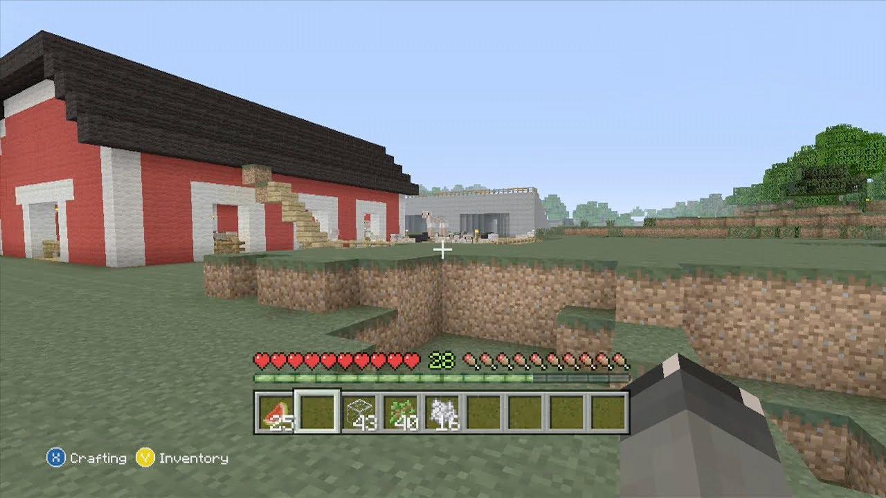 Minecraft: Animal Barn - YouTube for Farm Minecraft Barn  104xkb