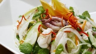 How To Make Vietnamese Squid Salad - Goi Muc