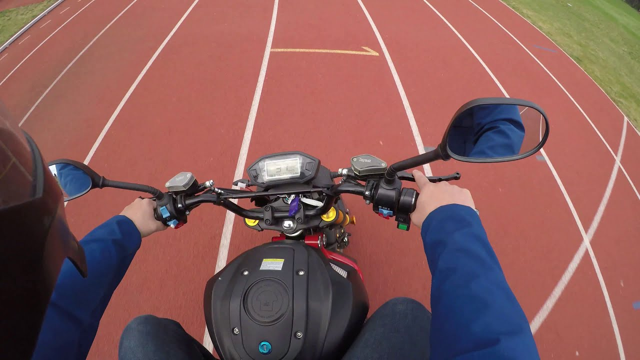 DAYMAK ROGUE EBIKE TOP SPEED RACE TRACK