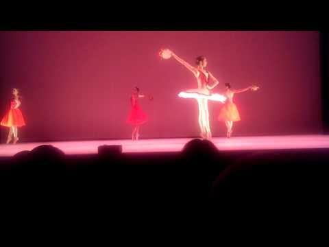 Unison dancers at the Gala evening - Association Mia Arbatova ballet