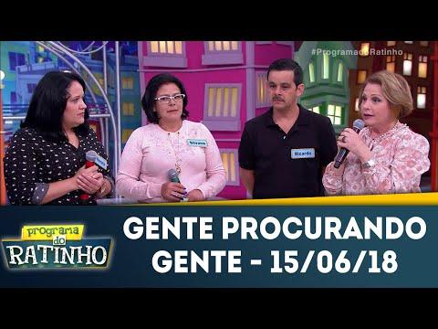 Gente Procurando Gente - Completo | Programa Do Ratinho (15/06/18)