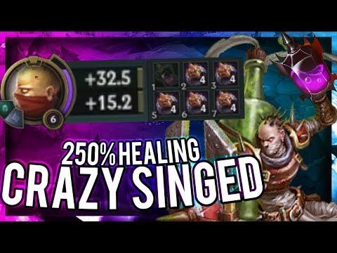 250% POTION HEALING - 5 DARK SEALS SINGED + NEW RUNES = 300+ HP PER POTION - SEASON 8 METAMANCER